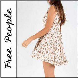 "NWT ( Free People ) ""Fake Love"" Mini Dress"